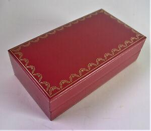 - CARTIER  BOX -  Aufbewahrungsbox CO 712 - Brillenbox /  Uhrenbox