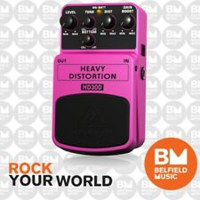 Behringer HD300 Heavy Distortion Effects Pedal HD-300 - Brand New-Belfield Music