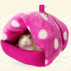 Hamster Bird Hedgehog Guinea Pig Warm Nest Small Animal Bed House Pet Supply NEW