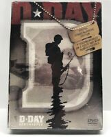 D-Day Remembered DVD 2 Disc Set New Sealed World War Two Free Shipping