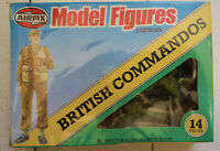 Vintage 1/32 Airfix British Commandos WW2 1980s new in sealed box RARE