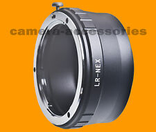 Leica R LR lens to Sony E-mount NEX adapter NEX-5T NEX-5R NEX-7 Alpha A7r A6000