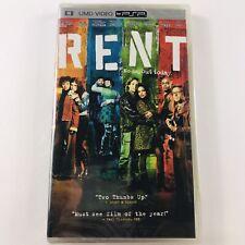 Rent (Sony PSP, UMD Video, 2006) BRAND NEW SEALED