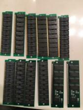 Lot of 12,1MB 30 Pin,9 chip, Parity 70ns FPM SIMM,Plus,Classic, SE Memory Apple