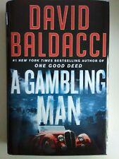 A Gambling Man by David Baldacci - NEW hardcover