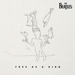 THE BEATLES Free As A Bird Vinyl Record Single 7 Inch Apple 2019 Real Love Rock