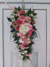 🌹Türkranz, Blumenkranz, Blütenkranz, Tischgesteck, Türschmuck, 80cm Türzopf