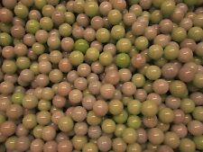 "MARBLES 2 LBS 9/16"" + or -GREEN & GRAY PASTEL MIX CHAMPION MARBLES FREE SHIPPING"