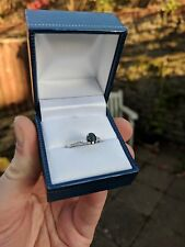 Sapphire and diamond ring - perfect for engagement