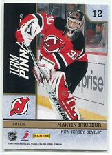 2010-11 Pinnacle Team Pinnacle 12 Jonathan Quick Martin Brodeur