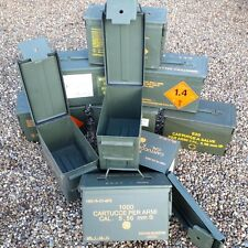 More details for ammo box ammo can 50 cal grade 1 metal box storage box storage solution empty