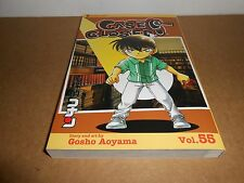 Case Closed (Detective Boy Conan) Vol. 55 by Gosho Aoyama Manga Book in English