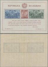 San Marino 1944 - Miniature Sheet - MNH Stamps D2
