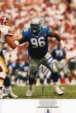 Cortez Kennedy HOF Seattle Seahawks Signed Autographed 8x10 Photo Beckett BAS