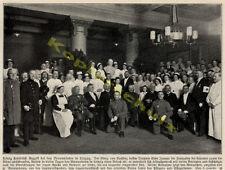 Le Lazaret Leipzig roi Fr. août Maçonnique Loge Apollo faites sauter pour Linde 1915