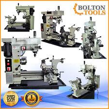 "NEW Bolton Tools 16"" x 20"" Precision Combo Metal Lathe Mill Drill Machine BT500"