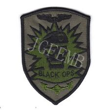 Call Of Duty Black OPS Tactical morale Military Embroidery Patch