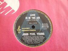 "JOHN PAUL YOUNG RADIO STATION A PROMO SAMPLE 45 7"" AUSTRALIA ALBERT PRODUCTIONS"