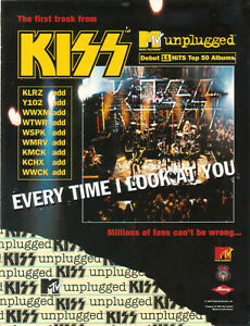 Kiss 1996 Ad- Every Time I Look At You  Advertisement