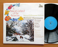 RHS 340 A Musical Garland Of The Seasons Bernard Herrmann 1976 Unicorn NM/EX