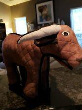 """Tuffy's Bull Bevo Plush Dog Toy 19"""" x 12"""""""