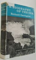 A Biography of the Sea Richard Carrington natural history oceanography book 1960