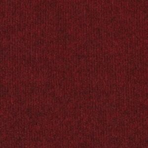 Wine Red Budget Cord Carpet, Cheap Thin Temporary Floor Covering, Exhibition