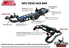 NISSAN NAVARA D22 1998 - 2015, MCC REAR JACK BAR/ RATED TOW BAR, STEP, 4WD, 4X4