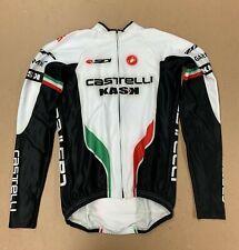 Castelli Aero Rain LS Jersey Size Medium New