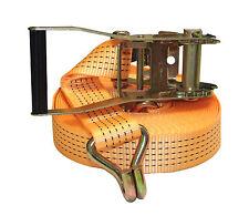 SANGLE D'ARRIMAGE A CLIQUET A TENDEUR 12M x 35MM - 3000kg