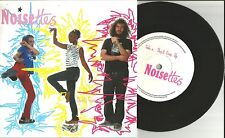 NOISETTES Don't give up / Mind the Gap LIMITED PROMO Only 7 INCH Vinyl 2007 USA