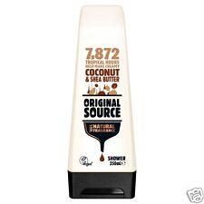 Original Source Coconut & Shea Butter Shower Body Wash Gel 250ml