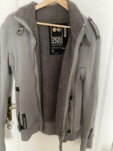 CROSSHATCH (large) Zip Up Man's Cardigan