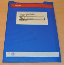 VW LT 1997 Hinterachse Achsantrieb Werkstatthandbuch Reparaturleitfaden