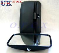 "New 2x 12"" Main Side Wing E marked Mirror fit Caravan Truck Bus Camper Universal"