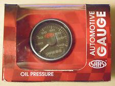 SAAS 52mm Oil Pressure Gauge for 4WD Nissan Toyota Ford Honda Subaru Holden BMW