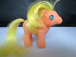 MLP My Little Pony BABY APPLEJACK G1 1984 Vintage Rare Horse Unicorn