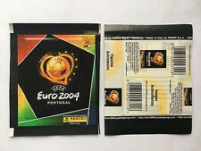 POCHETTE PANINI EURO 2004 PORTUGAL PACKET TUTEN BUSTINA STICKER
