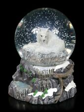 Nemesis Now Guardian Of Des Nordens Schneekugel Von Lisa PARKAUFSEHER Wolf