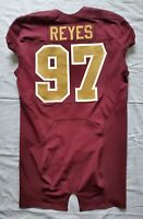 #97 Kendall Reyes of Redskins NFL Locker Room Game Issued Alternate Jersey