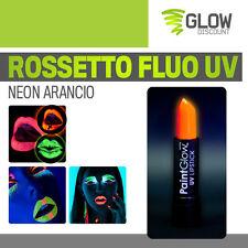 ROSSETTO FLUO UV ARANCIO trucco fluo fluorescente fosforescente neon dj 30261