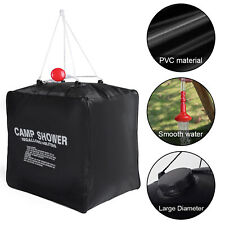 10 Gallon Camp Shower Water Bag PVC Solar Heating Shower Bag Outdoor Camping