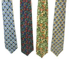 "LOT OF 4 Disney silk Neckties novelty/dress 2 Mickey Mouse - 2 Tigger 4""X56""-59"""