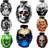 Cool Poker Flame Skull 3D Print Women/Men Hoodie Sweatshirt Pullover Jumper Coat