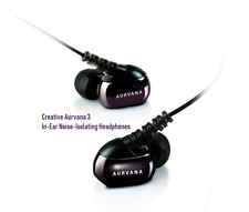 Creative Aurvana 3 In-Ear Noise-Isolating Headphones / SEALED / VERY NICE / 🔥