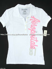75% OFF! AUTH AEROPOSTALE 87 VERTICAL JERSEY POLO SHIRT LARGE BNW US$ 24.5+