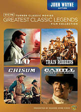 4 JOHN WAYNE Movies McQ CHISUM CAHILL UNITED STATES MARSHAL The TRAIN ROBBERS NU