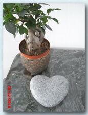 Grabherz, Granit, Gewölbt, China Grau, poliert, 20x18x6cm, NEU!!!