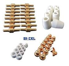 46x Plasma Cutter Consumables Lg 40 Cut40 Pt 31 Cut50 Electrode Tip Torch Nozzle