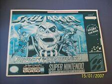 Skul Jagger Revolt Of The Westicans SNES 16 Bit Super Nintendo Vidpro Card
